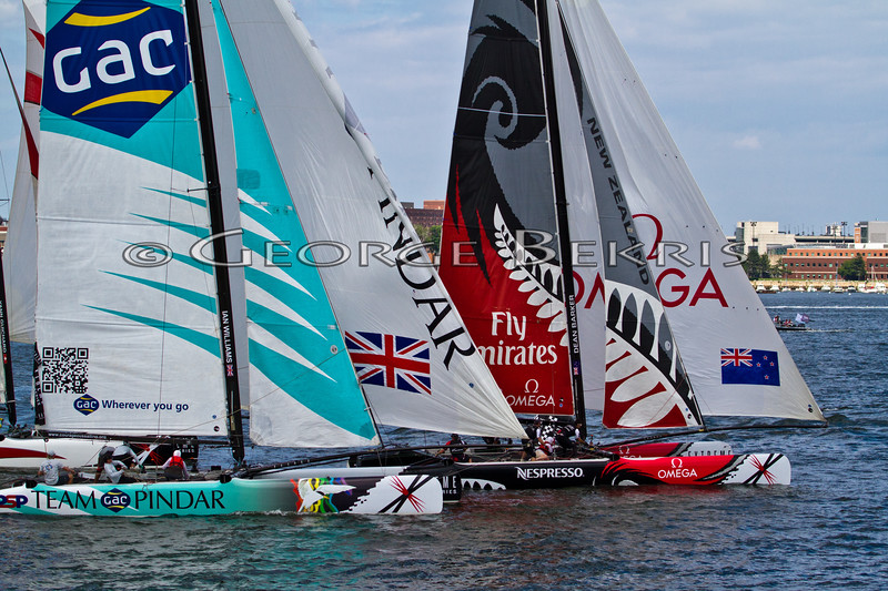 Extreme Sailing Series Boston 2011 Pindar
