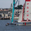 Extreme Sailing Series Boston 2011<br /> Luna Rossa Pindar