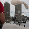 Extreme Sailing Series Boston 2011<br /> Red Bull Skydiving Team