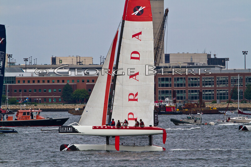 Extreme Sailing Series Boston 2011<br /> Luna Rossa