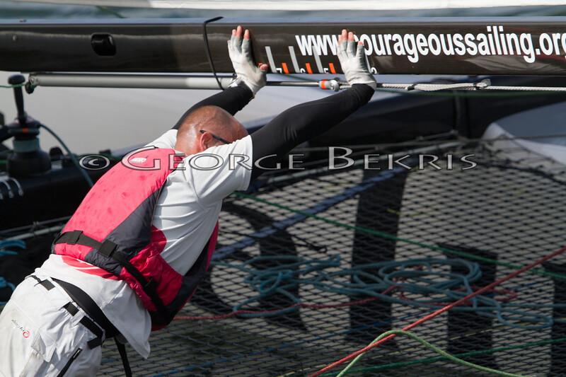 Extreme Sailing Series Boston 2011