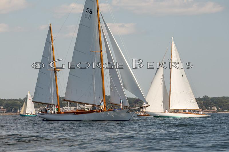 Catriona   58  and Tabasco   NY 7