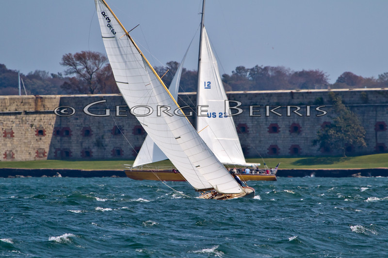 Ruweida V  R3<br /> Heritage  <br /> 32nd Annual Museum of Yachting Classic Regatta 2011