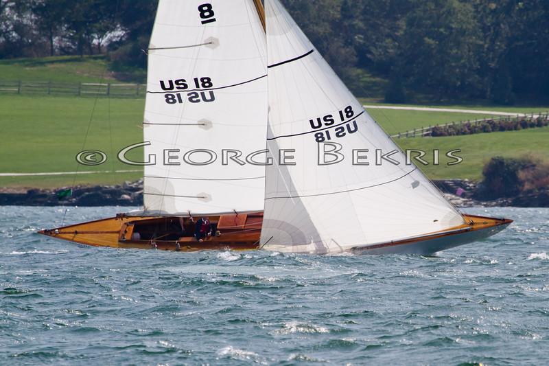 Angelita 8 Metre<br /> 32nd Annual Museum of Yachting Classic Regatta