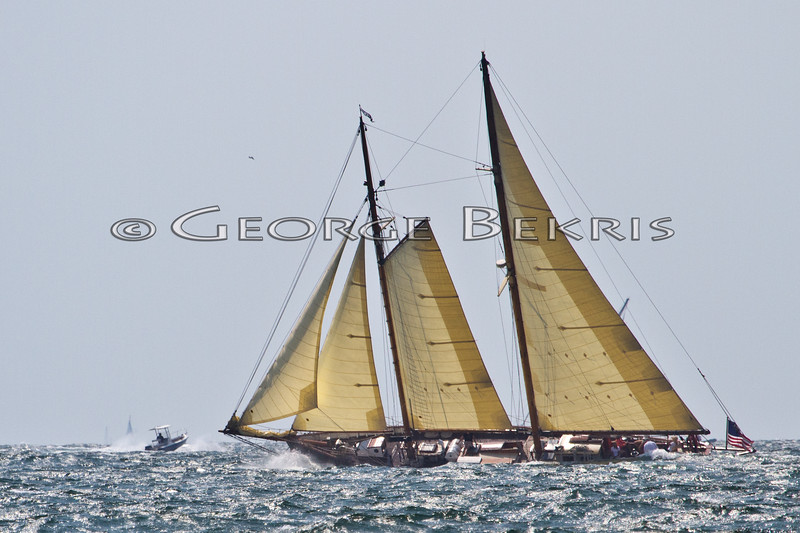 Schooner When and If<br /> 32nd Annual Museum of Yachting Classic Regatta 2011
