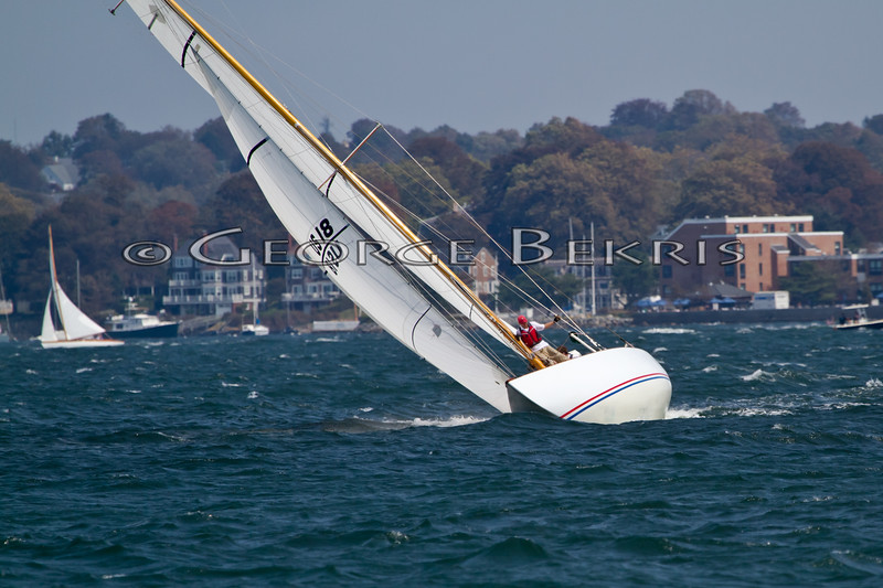 Angelita 8 Metre<br /> 32nd Annual Museum of Yachting Classic Regatta 2011