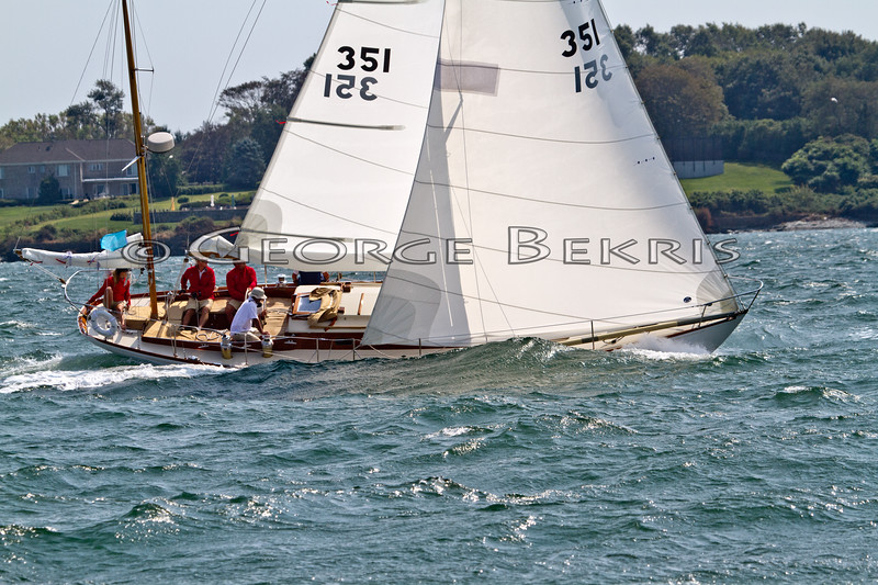 Fidelio 351<br /> 32nd Annual Museum of Yachting Classic Regatta 2011