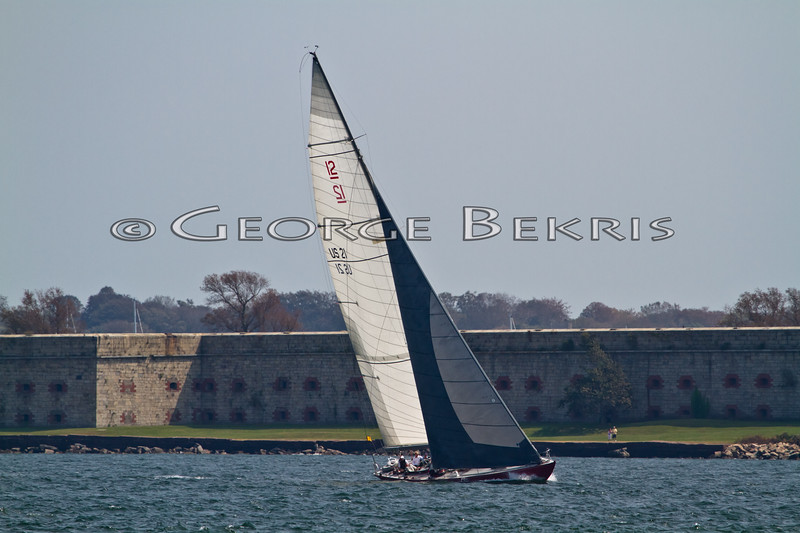 American Eagle  US21<br /> 32nd Annual Museum of Yachting Classic Regatta 2011