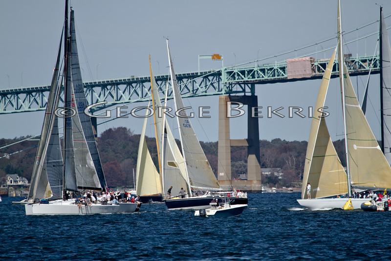 PHRF 8 Start<br /> Sail For Pride