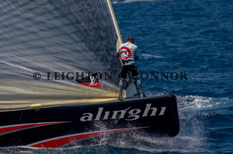 VALENCIA, SPAIN - JUNE 26: 32nd America's Cup on June 26, 2007 in Valencia, Spain.