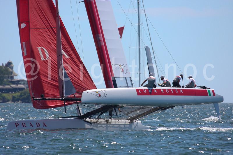NEWPORT, RI - JULY 27: 2012 America's Cup World Series in Newport, RI.