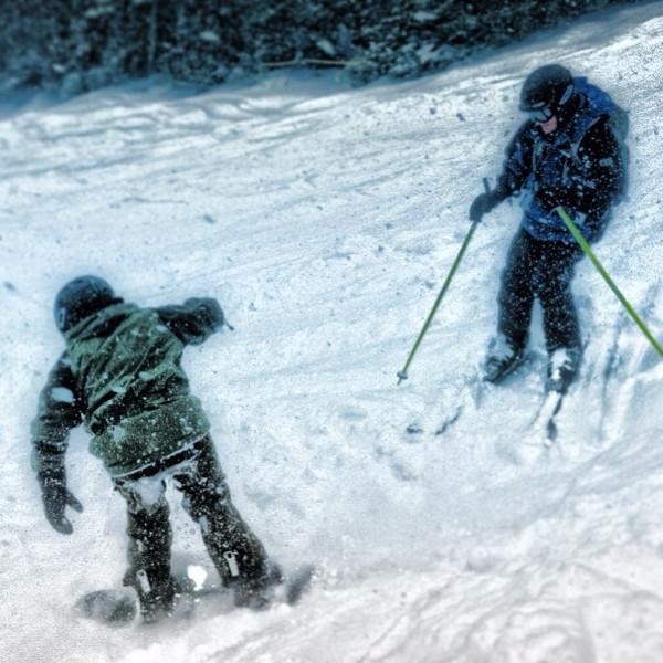 Winter wonderland today. #skiing #snow #riding #boarding #snowboarding #newhampshire #nemo