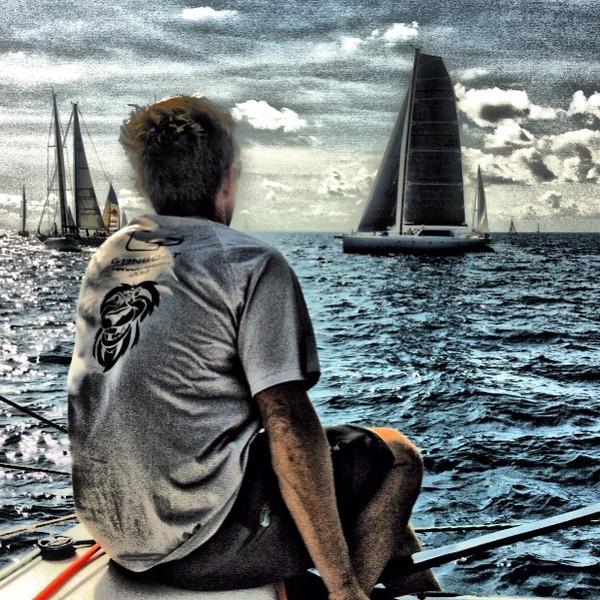 Artsy Gunboat start on board Panthera Gunboat 66 @sxmheineken #sxmheineken #sailing #regattas @vacationstmaartin @stmaartintravel