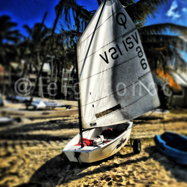 "My ""fast"" sexy ride for practice @irrstyc @usvitourism @rolex #rolex #irr40 #usvi #stthomas #sailing #opti #paradise"