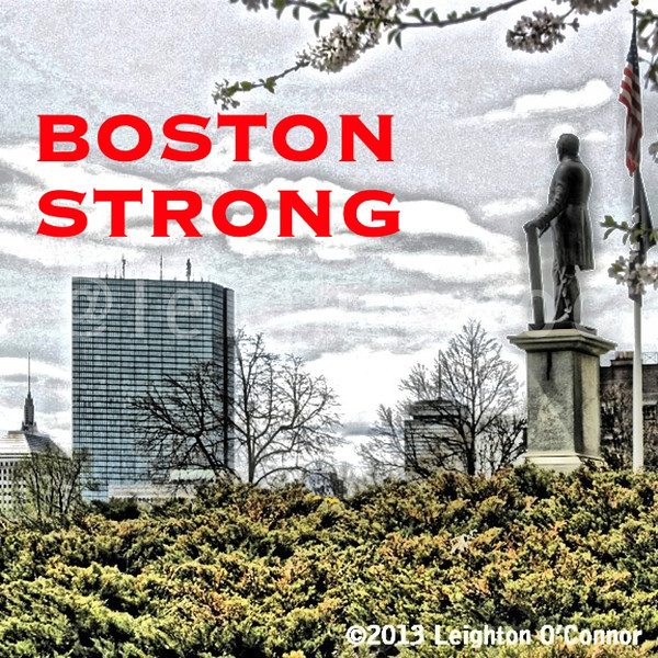 Boston Strong. Boston Proud. Thank you for watching over us and capturing evil.