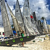 Beach Cats getting ready for  Day 3 of @irrstyc @usvitourism @rolex #rolex #irr40 #sailing #usvi #stthomas #tropical #paradise #Caribbean