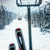 Snowing pretty good! Great day.#snow #skiing #newhampshire #boarding  #snowboarding #riding