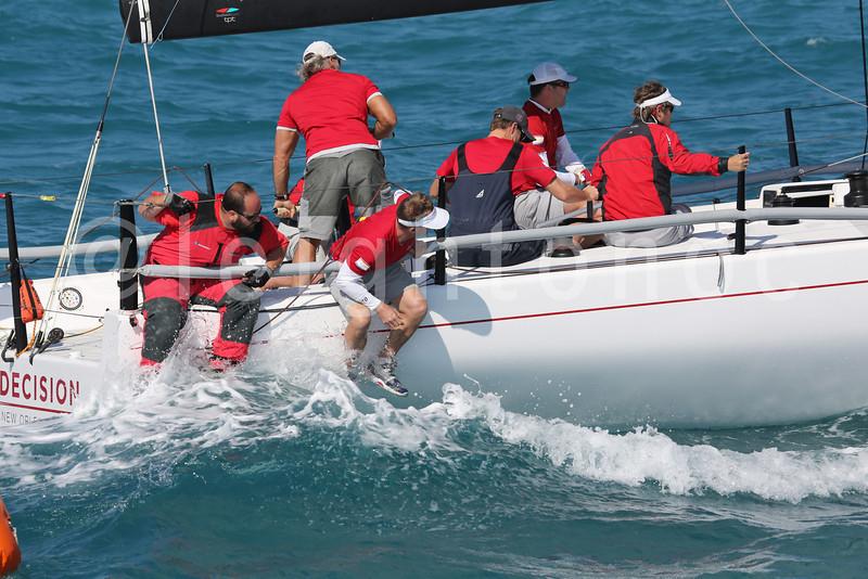 Live image of Decision from Div. 1 line #qkeywest #sailing #keywest #kwrw #florida #regatta #nofilters