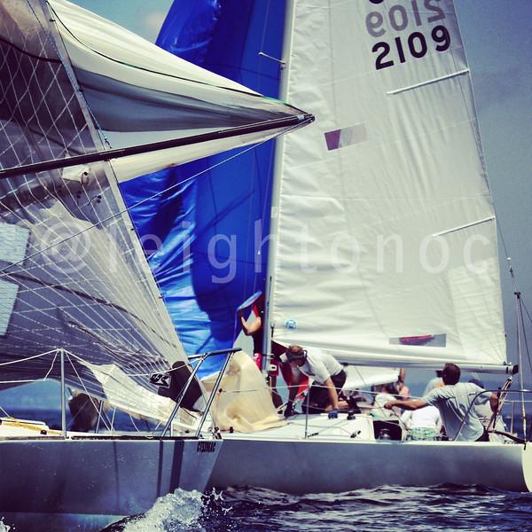 J/24 pain boxes #sailing