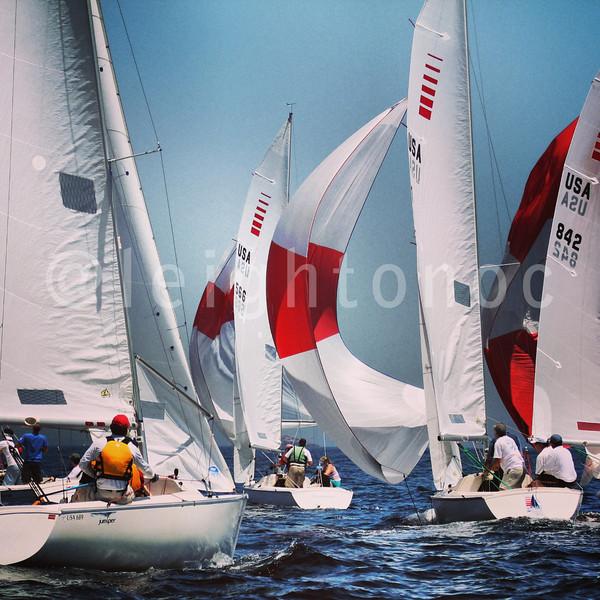 Mark action #sailing