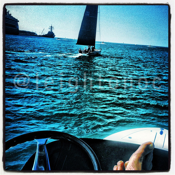 Shooting from the cheap seats today. What a day it is going to be! #qkeywest #sailing #keywest #kwrw #florida #regatta