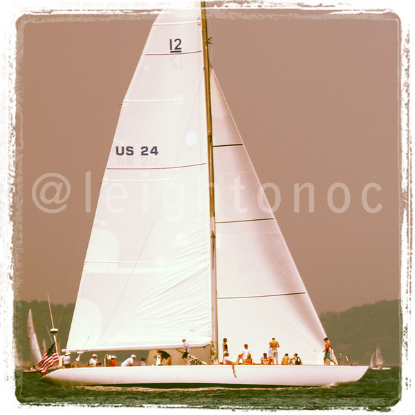 Like this if you like non-foiling mono hull classic AC boats. Saw this 12 Metre today while doing RC today.  #americascup
