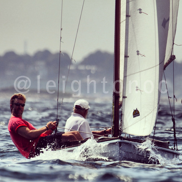 Whoops...didn't post any Town Class photos from the water today, Here is one. #sailing