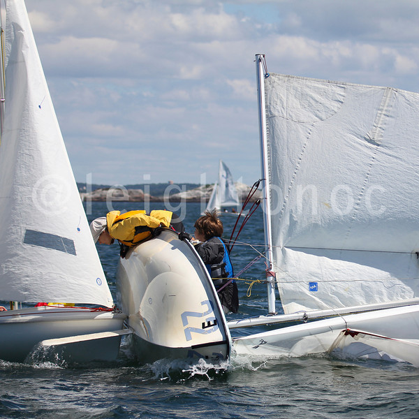 Check out the Dr. Crash photo in the June printed  issue of Sailing World Magazine. #sailing #crash #whoops #420 @sailingworldmag