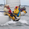 And they are off! Robert J. Hartl Memorial Regatta off of #Boston today. @courageoussail #sailing