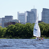 Good day to be on the ocean. I mean river. #boston #sailing