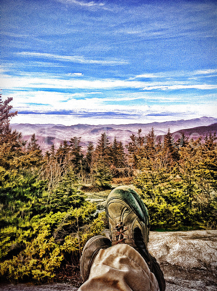 For all my weird friends who like my #shoe #shots.  #mt #mountain #shoes #boots #hiking #climbing #mountains #views #scenic #clouds #sky #trees #valley #picoftheday #photo #photos #sun