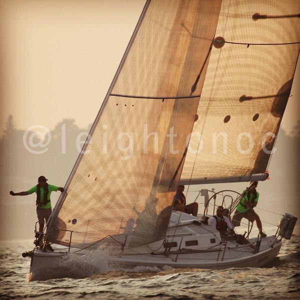 Golden sunset for start tonight. #beringerbowl #sailing