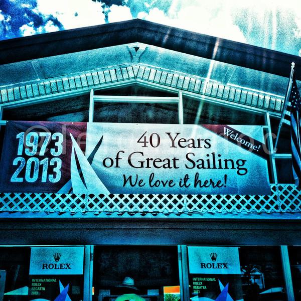 40 yrs of racing.  That's a lot of Dark n' Stormies @irrstyc @usvitourism #irr40 #usvi #stthomas #sailing #paradise