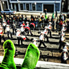 Watching the parade with @Kermitthefrog @paradeboston #boston #parade #stpatricksboston #stpatricksday