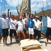 The Blue Peter crew...winners of the Invitational Pursuit Race to Norman Island Congrats! @thebluepeter @springregatta festival @britushvirginis  #bvi #bvisr13