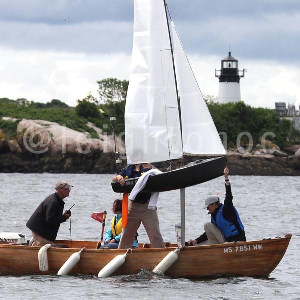 Piggyback @sailbot @dscvrglstr #sailbot #sailing #gloucester #capeann