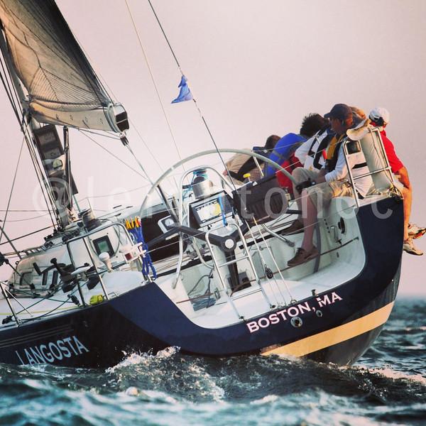 Quick ride to Provincetown tonight. #beringerbowl #sailing
