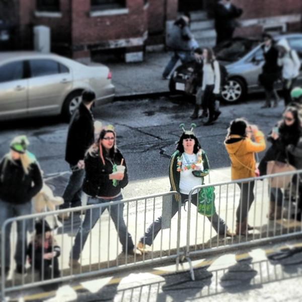 Caption contest @paradeboston #boston #stpatricksboston