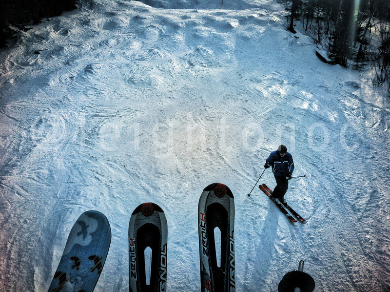First tracks?  Far from it! Cont'd are fab!! #skiing #riding #snowboarding #winter #mountains #newhampshire #nh