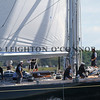 Mega Yachts race in 2010 Newport Bucket Regatta on September 10, 2010 in Newport, RI.