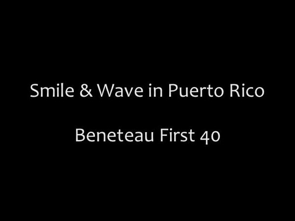Took a little ride on Smile & Wave while I was shooting the Vela Cup in Puerto Rico Memorial Weekend. First regatta for this brand new Beneteau First 40. Fast Boat!