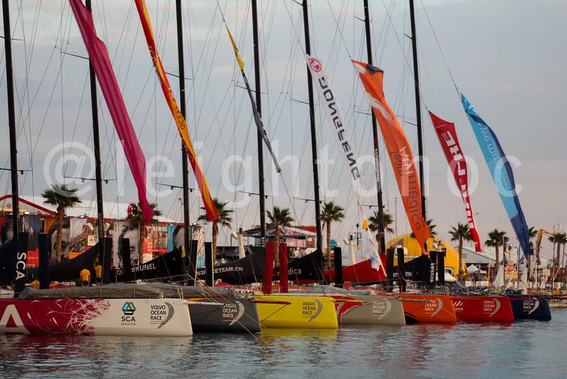 Race Village, Alicante, Spain ~ 2014-2015 Volvo Ocean Race