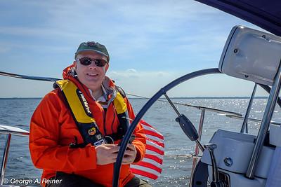 Sailing on Raritan Bay 2015
