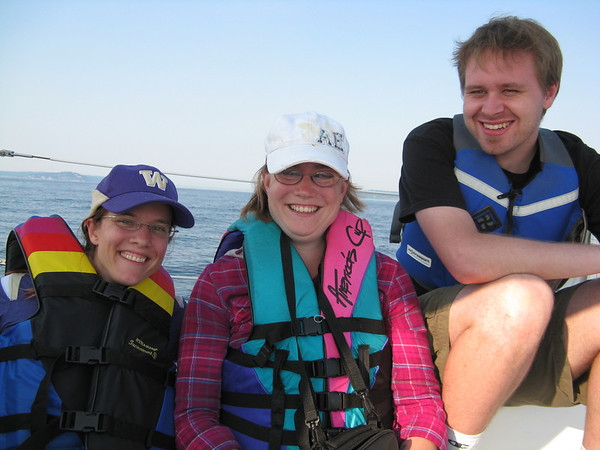 Sailing with friends, September 11, 2011