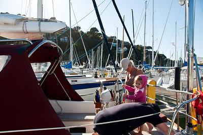 child-sailing