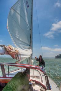 tightening-sail