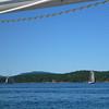 We saw these schooners between Shaw and San Juan Island