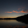 Sunset over Echo Bay