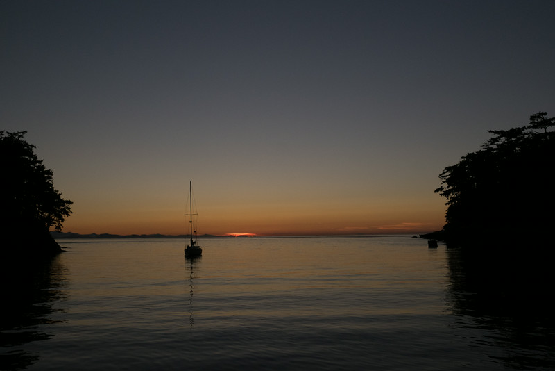 Active Cove, Patos, Sunset
