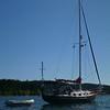 Matt's boat Halcyon